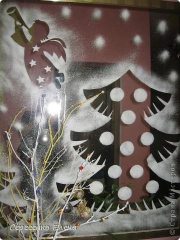 Новогодний декор зеркал и окон!