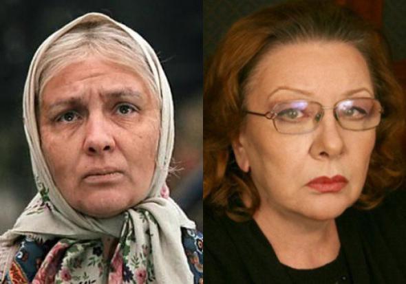 Баба Шура Актриса Наталья Тенякова.