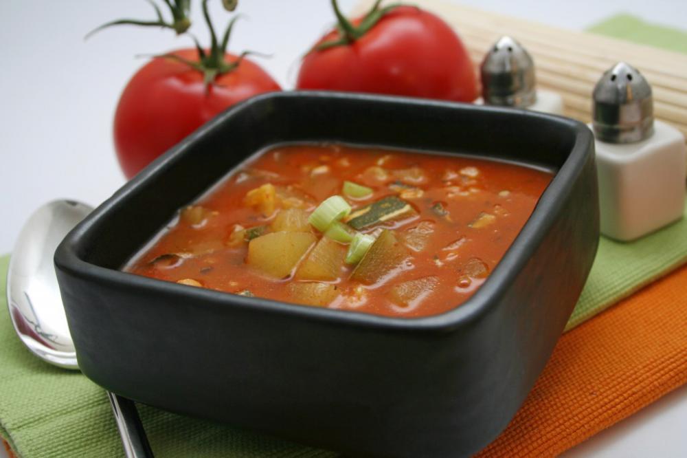 томатный суп при похудении