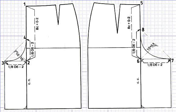 Сшить юбку-брюки на полных 43