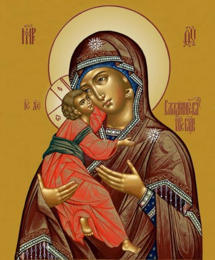 3 июня праздник Владимирской иконы Божьей матери - спасительницы России