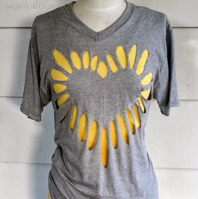15 способов переделать старую футболку для лета 76
