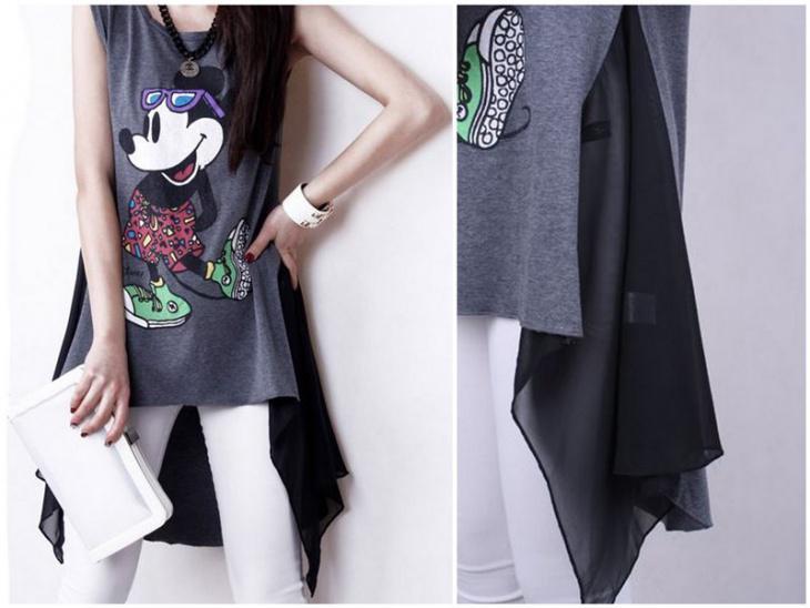 2376_3916_1499424010_0 Что можно сделать из старой футболки (107 фото): переделка своими руками в коврики, модный топ и трикотажную пряжу, шарф и сумку, купальник