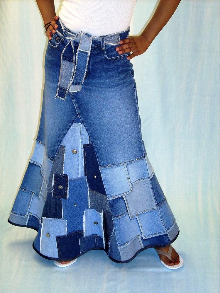 его модные джинсы из старых джинсов фото сэкономил экране, передав