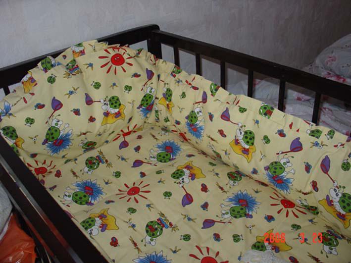 Как сшить самому бортики на детскую кроватку своими руками