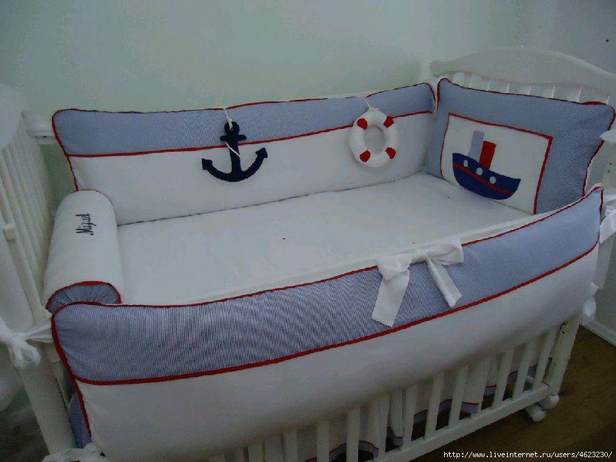 Бортики в кроватку для мальчиков своими руками выкройки