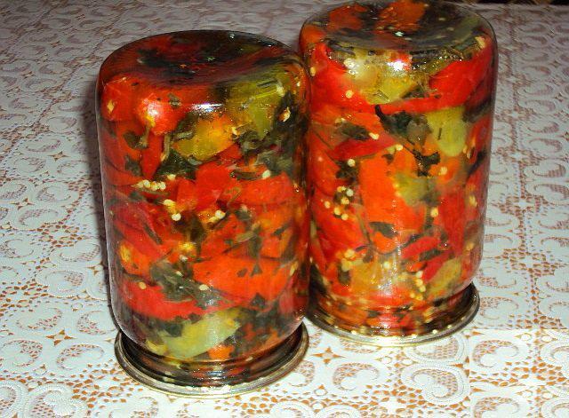 Соление горького перца по кавказски