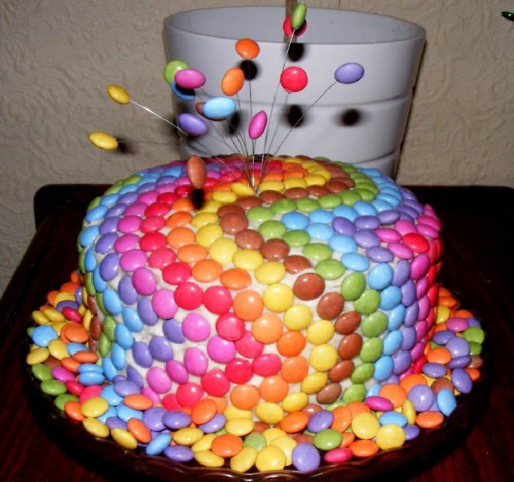 Красивый торт своими руками на день