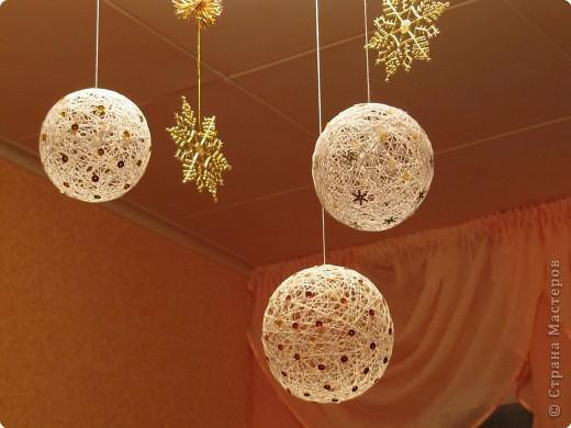 Своими руками шары на потолок