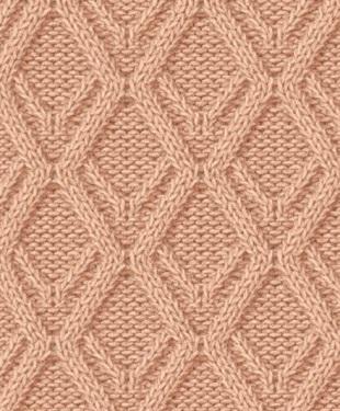 Схемы рисунка вязания спицами для начинающих