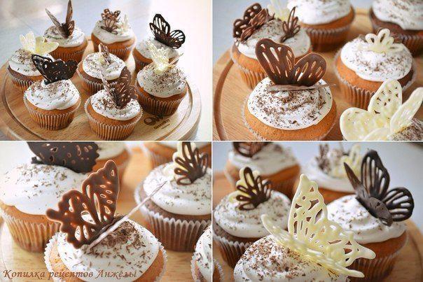 Рисунки для торта из шоколада