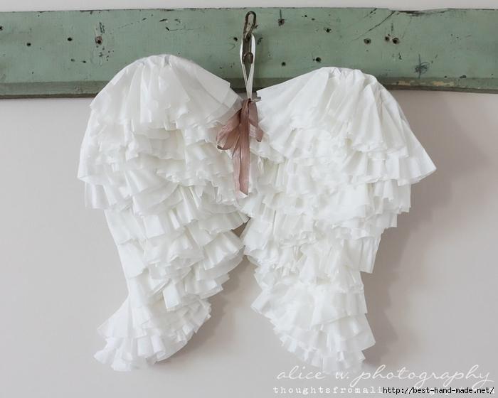 Крылья Ангела - просто и быстро! (мастер-класс)