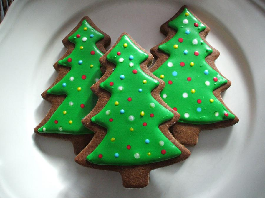 Как приготовить Новогоднее печенье на елку