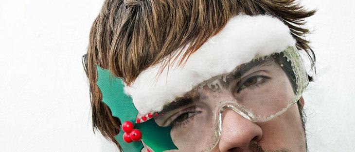 Новогодние очки - просто, весело и празднично!