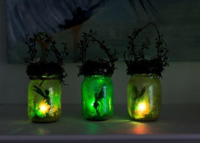 Очаровательные волшебные фонарики к Новому году. Мастер-класс