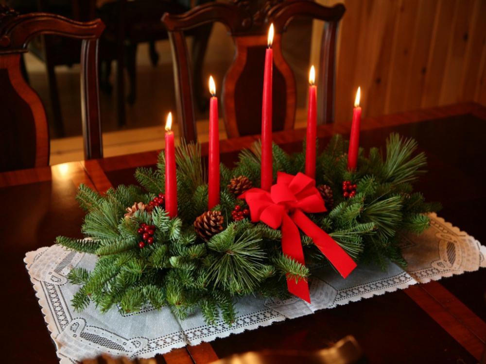 Новогодний декор из ягод, шишек и орехов!