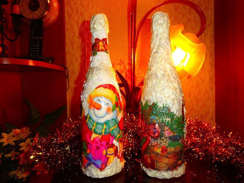 Шампанское «Новогоднее» . Morskay10