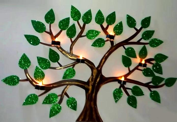 Оригинальное дерево своими руками 288