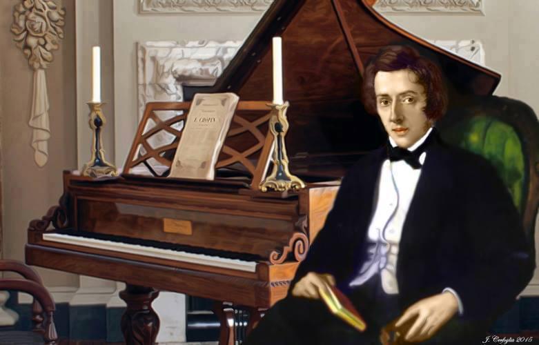 Шопен за пианино картинки