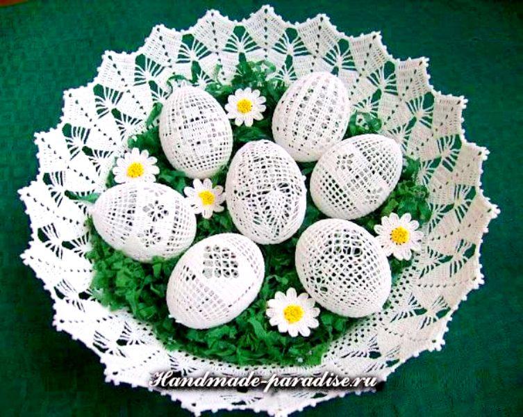 как обвязать крючком пасхальные яйца идеи и схемы вязания женский мир